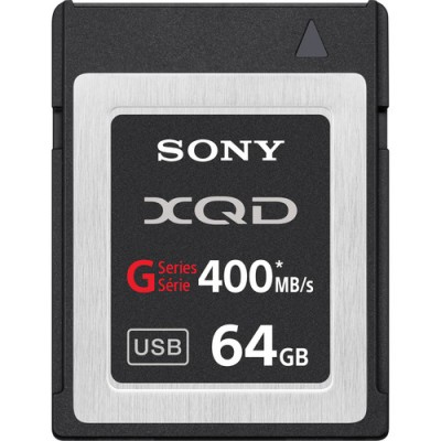 Sony QD-G64A 64GB G Series XQD Format Version 2 Memory Card with card reader