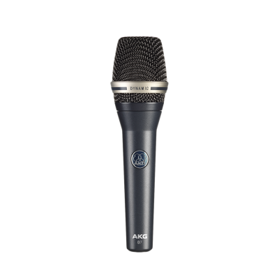 AKG D-7S Dynamic Supercardioid Handheld Vocal Microphone