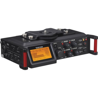 Tascam DR-70D 4 Channel Audio Recorder for DSLR Camera and Video Camera