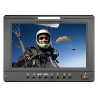 "Marshall Electronics V-LCD70-AFHD 7"" High Resolution 1024x600 Lightweight Camera-Top Monitor with Multiple Inputs"