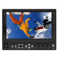 "Marshall Electronics V-LCD71MD 7""Full Resolution 1920x1080 Camera-Top Monitor with Modular Input/Output"