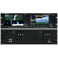 "Marshall Electronics OR-702 Fully Featured 3RU Dual 7"" Broadcast LCD Rack Mount Monitor"