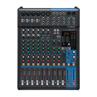 YAMAHA MG-12UX 12 Channel Audio Mixer with USB input Function