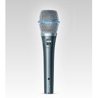 Shure BETA 87A Premium Quality Supercardioid Handheld Electret Condenser Vocal Microphone