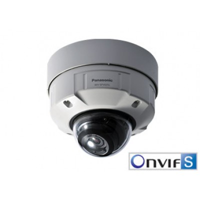Panasonic WV-SFV631L Super Dynamic Full HD Vandal Resistant & Waterproof Dome Network Camera