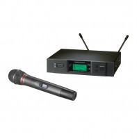 Audio Technica ATW-3141B True Diversity UHF Handheld Wireless Microphone System