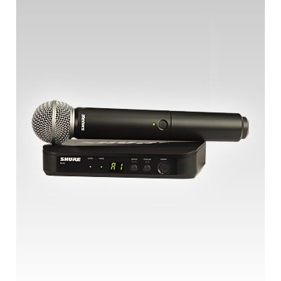 Shure BLX2/SM58 Handheld Wireless Microphone System