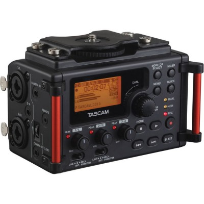 Tascam DR-60MKII 4 Channel Portable Audio Recorder for DSLR Camera