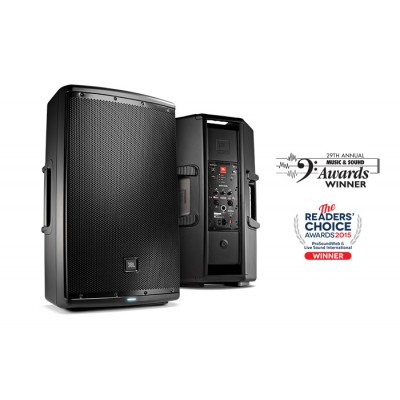 "JBL EON-615 15"" Two-Way 1000 Watts Multipurpose Self-Powered Sound Reinforcement"