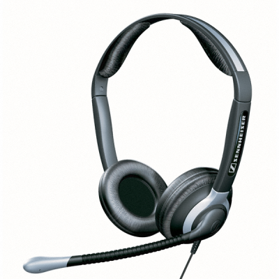 Sennheiser HME 43-K is a pilot's headset with closed headphones and Ultra Noise Cancelling Microphone for use in Airline Jets and Business Jets.