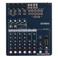 Yamaha MG-102C 10-Channels Professional Audio Mixer