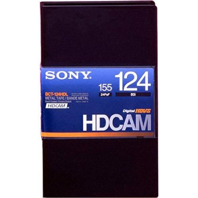 Sony BCT-124HDL HDCAM Video Cassette