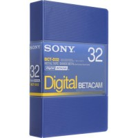 Sony BCT-D32 32 Minutes Digital Betacam Video Cassette