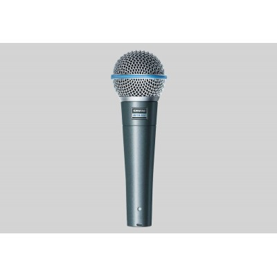 Shure Beta 58A Professional Supercardioid Polar Pattern Dynamic Microphone