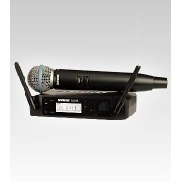 Shure GLXD24/BETA58A Digital Handheld UHF Wireless Microphone System