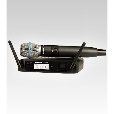 SHURE GLXD24/BETA87A Digital Handheld Wireless Microphone System