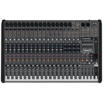 Mackie PROFX22 22 Channels Professional Effect Audio Mixer with USB input