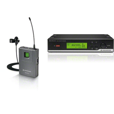 Sennheiser XSW-12 UHF Clip-on Microphone XS Wireless Presenter Set
