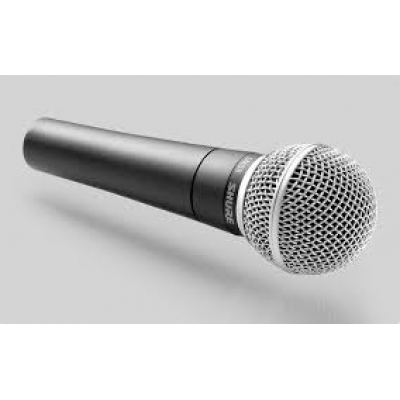 Shure SM-58 Professional Vocal Dynamic Microphone
