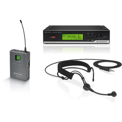 Sennheiser XSW-52 UHF Head-worn Wireless Microphone System