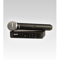 Shure BLX24/PG58 Handheld Entry-level UHF Wireless Microphone System