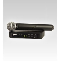 Shure BLX24/SM58 Handheld UHF Wireless Microphone System