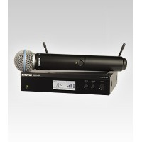 Shure BLX24R/B58 Handheld UHF Wireless Microphone System