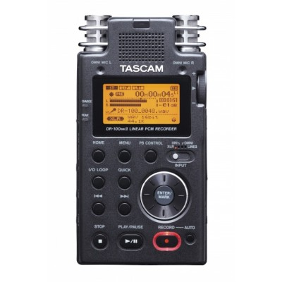 Tascam DR-100MKII Professional High-end Portable Recorder