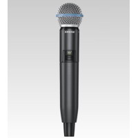 Shure GLXD2/BETA58A Handheld UHF Wireless Microphone Transmitter