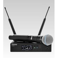 Shure QLXD24/B58 Digital Handheld Wireless Microphone System