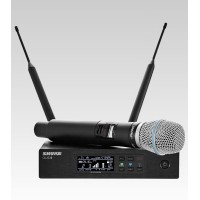 SHURE QLXD24/B87A Digital Handheld Wireless Microphone System