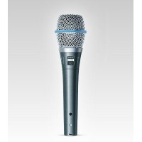 Shure BETA 87C Premium Cardioid Condenser Wired Vocal Microphone