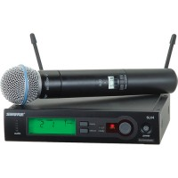 Shure SLX24/BETA58 UHF Diversity Handheld Wireless Microphone System