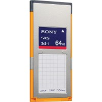 Sony SBS-64G1B 64GB G Series SXS--1 XDCAM Memory Card