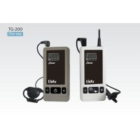 LINKX NE TG-200-10/1/12K System ( 1 x TG-200T Transmitter, 10 x TG-200R Receivers, 1 x TC-12K Charger) Digital UHF Tour Guide System for museum, historic sites, tourist attractions, factories, command training , hearing aid and voice reinforcement