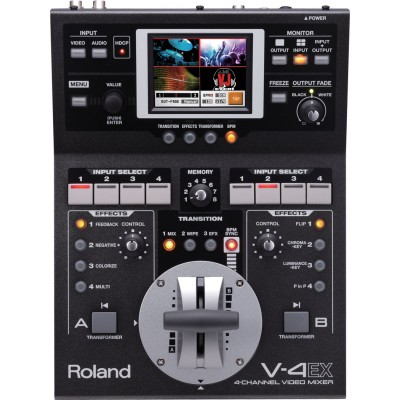 Roland Edirol V-4EX Professional 4 Channel Digital Video Mixer with Effect
