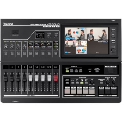 Roland Edirol VR-50HD All in One HD Mutli Format Audio Video Mixer with USB for Web Streaming and Recording