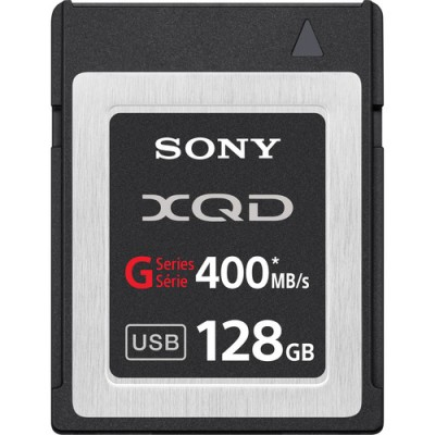 Sony QD-G128A 128GB XQD Series Format Version 2 Memory Card with card reader